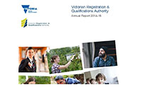 more information on the VRQA 2014-15 Annual report