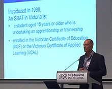SBAT-focussed Apprenticeships and Traineeships Industry Forum