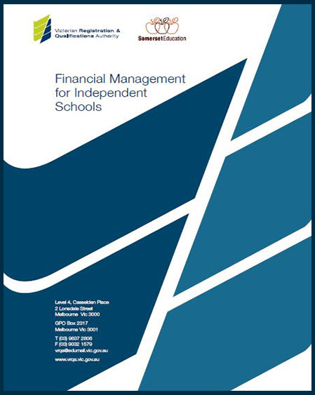Image of front cover of financial management resource