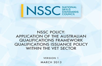 NSSC policy