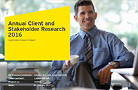 2016 Client and Stakeholder Research findings